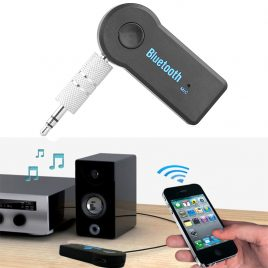 Car Wireless Bluetooth Audio Receiver Adapter with Mic