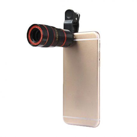 Mobile Phone 12X Zoom Clip-on Telescope