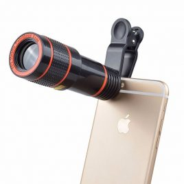 Mobile Phone 12X Zoom Clip-on Telescope