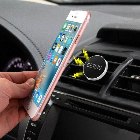 Magnetic Car Air-vent Mobile Phone Holder 08