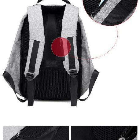 Anti Theft Backpack 06