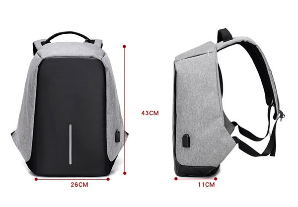 Anti Theft Backpack 08